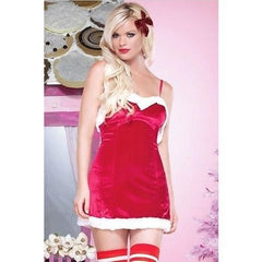 Sexy Miss Santa dress for <span class=money>€24.95 EUR</span> at Flirtywomen