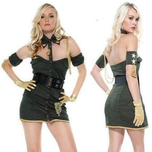 Lovely lieutenant fancy dress costume - Flirtywomen