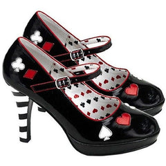 Mary Jane Croupier Shoes for <span class=money>€39.95 EUR</span> at Flirtywomen