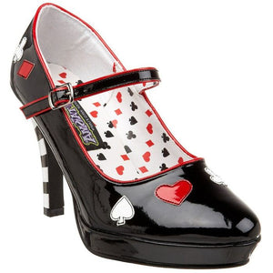 Mary Jane Croupier Shoes - Mary Jane Croupier Shoes