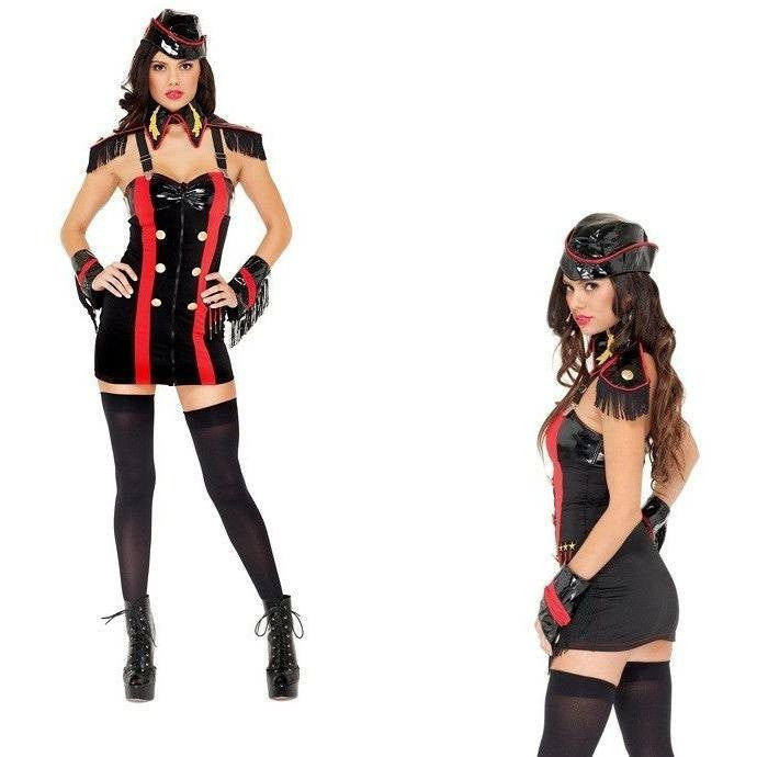 Military fancy dress costume for <span class=money>€49.95 EUR</span> at Flirtywomen