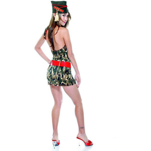 Military inspired costume set - Flirtywomen