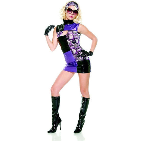 Miss Groove 70s Women`s Disco Costume for <span class=money>€29.95 EUR</span> at Flirtywomen