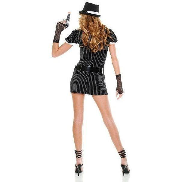 Mobster fancy dress costume - Flirtywomen