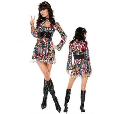 Mod Girl Retro fancy dress costume for <span class=money>€19.95 EUR</span> at Flirtywomen