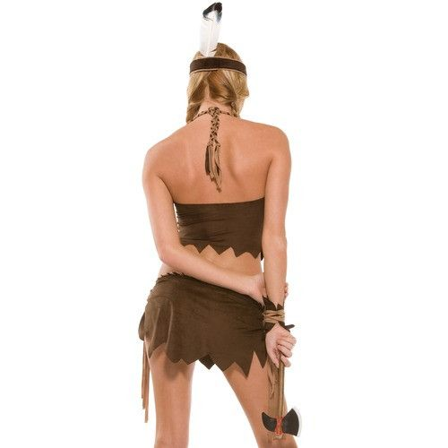 Native American Indian costume for <span class=money>€39.95 EUR</span> at Flirtywomen