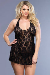 Lace nightdress for <span class=money>€14.95 EUR</span> at Flirtywomen