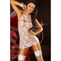 Nightdress With Suspenders - Nightdress With Suspenders