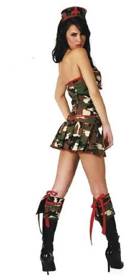 Army Medic fancy dress costume