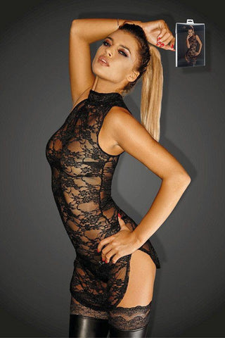 Lace mini-dress - Flirtywomen