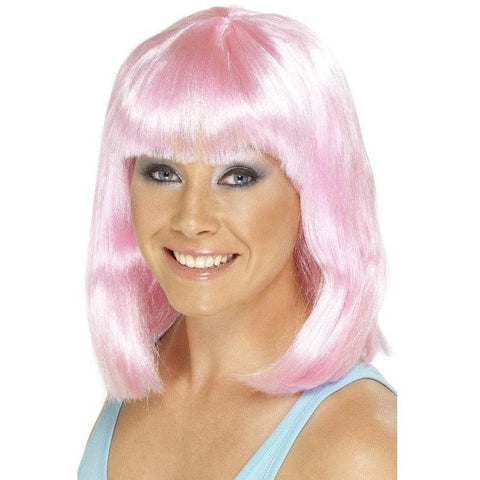 Pink cheerleader costume wig for <span class=money>€16.95 EUR</span> at Flirtywomen