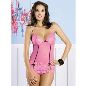 Pink Short Nightdress - Pink Short Nightdress