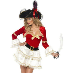 Pirate fancy dress costume - Flirtywomen