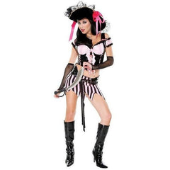 Pirate inspired fancy dress costume for <span class=money>€39.95 EUR</span> at Flirtywomen