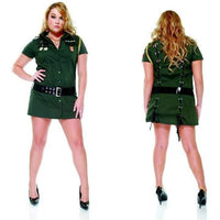 Army Seductress costume plus size - Flirtywomen