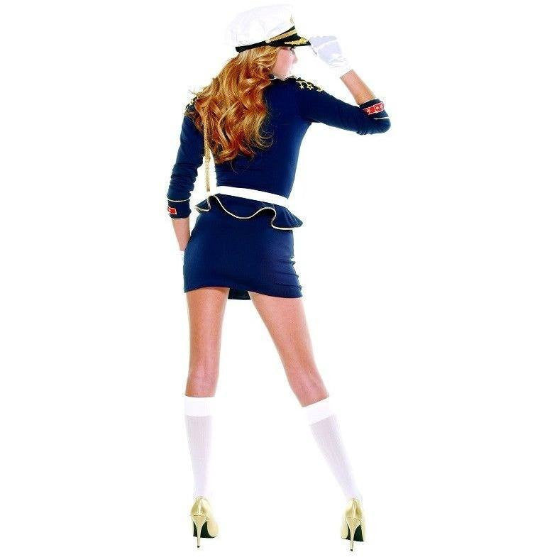 Sailor Captain plus size fancy dress - Flirtywomen