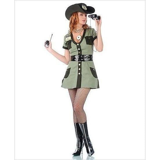 Plus size Police fancy dress costume - Flirtywomen