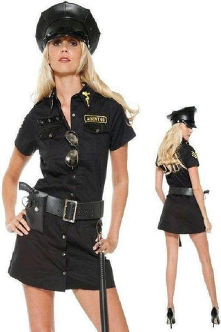 Sergeant Sexy plus size cop costume  sc 1 st  Flirtywomen & Shop for Police at Flirtywomen: bedroom costumes bra and panty set ...