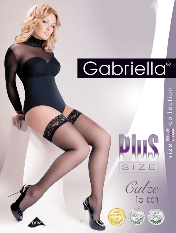 15 Denier plus size stockings