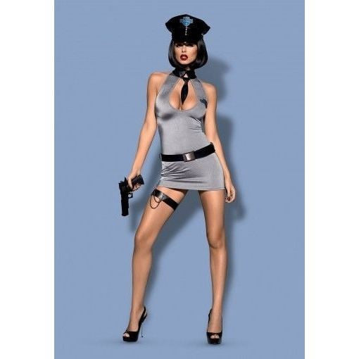 Police five piece fancy dress set - Flirtywomen