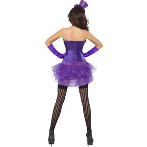 Purple Burlesque Costume - Purple Burlesque Costume