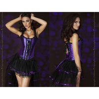 Purple Fashion Corset - Purple Fashion Corset