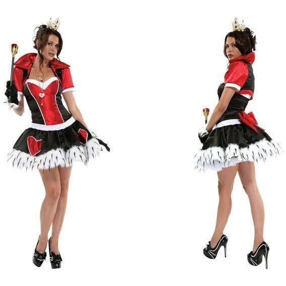 Queen of Hearts luxury costume for <span class=money>€49.95 EUR</span> at Flirtywomen
