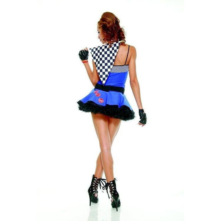 Racer themed fancy dress costume - Flirtywomen