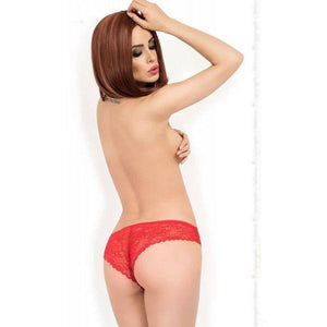 Red Lace Lingerie Panty`s - Red Lace Lingerie Panty`s