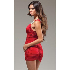 Red Mini Dress - Red Mini Dress