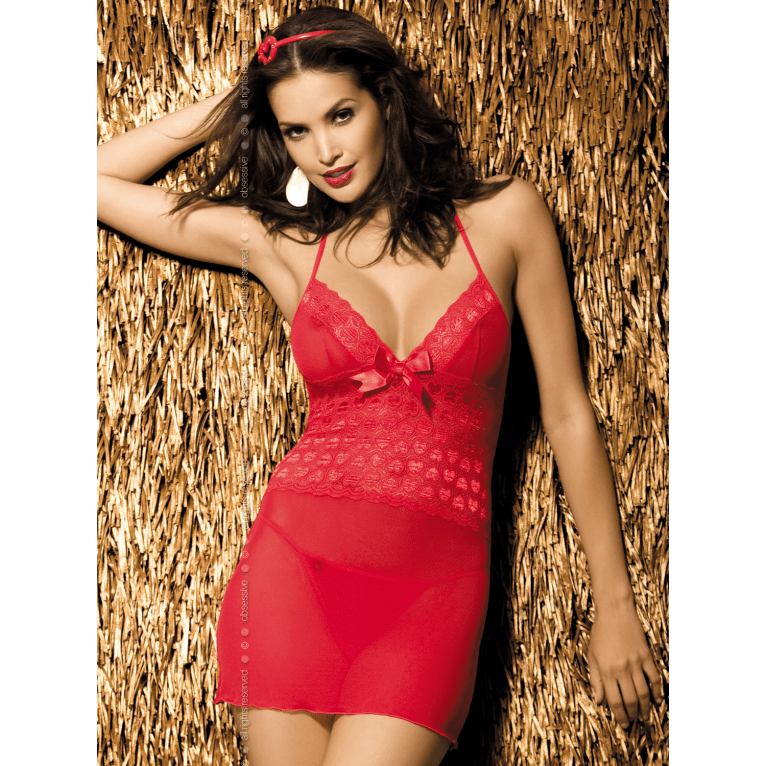 Red Nightdress for <span class=money>€22.95 EUR</span> at Flirtywomen
