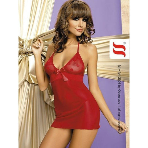 Red short nightdress for <span class=money>€19.95 EUR</span> at Flirtywomen