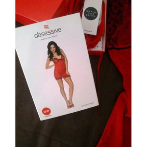 Red Short Nightdress - Red Short Nightdress