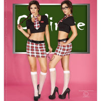 Schoolgirl 7 piece fancy dress set - Flirtywomen