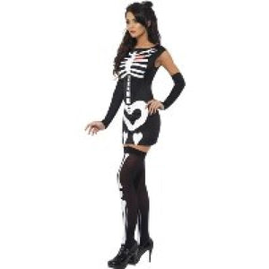 Skeleton fancy dress costume - Flirtywomen
