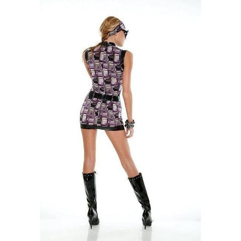 Sleeveless retro mini dress for <span class=money>€24.95 EUR</span> at Flirtywomen