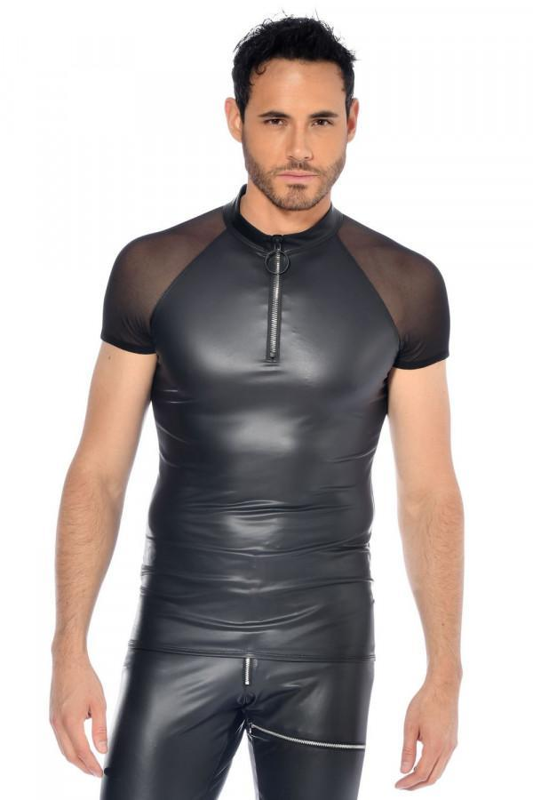 Men`s Wet-look top Khal