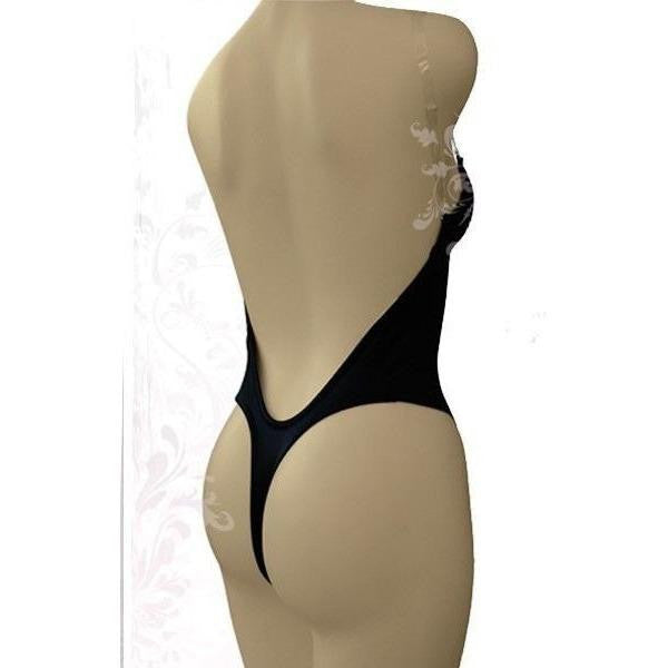 Thong Back Black Body Shaper - Thong Back Black Body Shaper