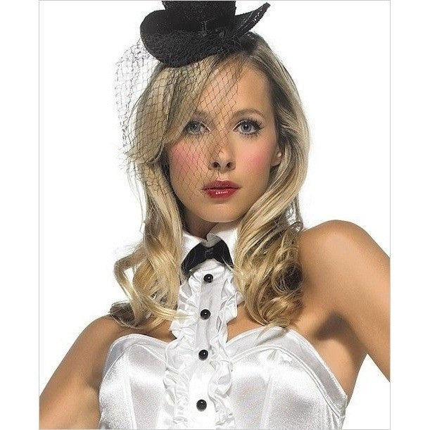 Tuxedo Showgirl fancy dress costume - Flirtywomen