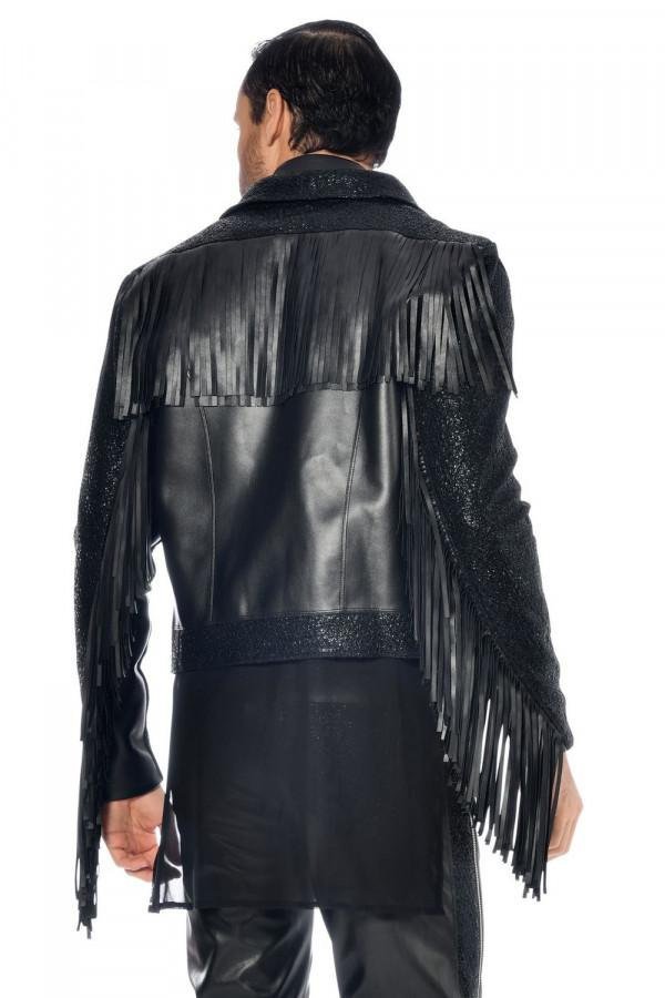 Men`s faux leather jacket Jayden