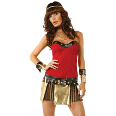 Warrior themed costume - Flirtywomen