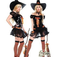 Wickedly sexy witch Halloween costume - Flirtywomen