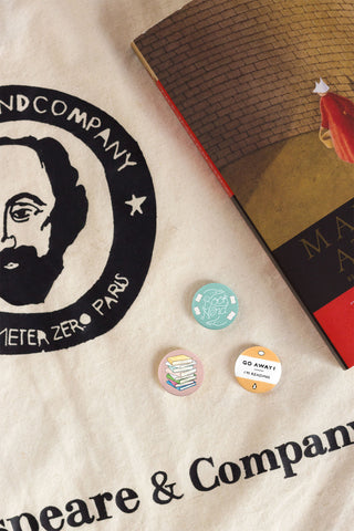 Book Nerd Badges // New in the Store