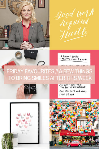 Friday Favourites // A Few Things to Bring Smiles After this Week