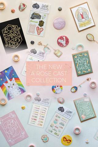 Introducing the New A Rose Cast Collection