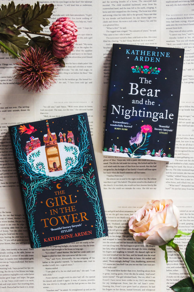 Book Review // The Bear & the Nightingale and The Girl in the Tower by Katherine Arden (Winternight Trilogy)