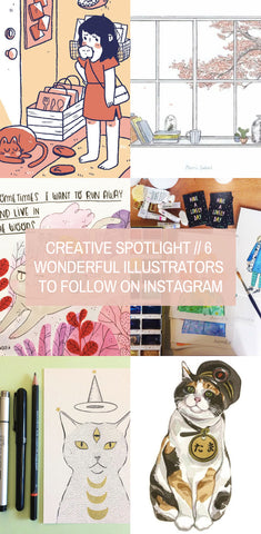 Creative Spotlight // 6 Wonderful illustrators to Follow on Instagram