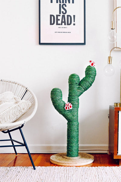 Super Cute Cactus Cat Scratching Post
