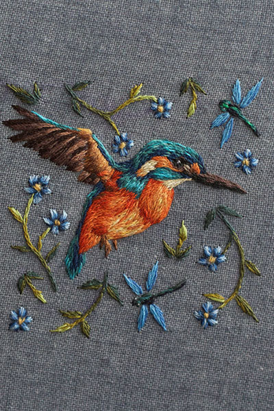 Embroidery Work by Chloe Giordano