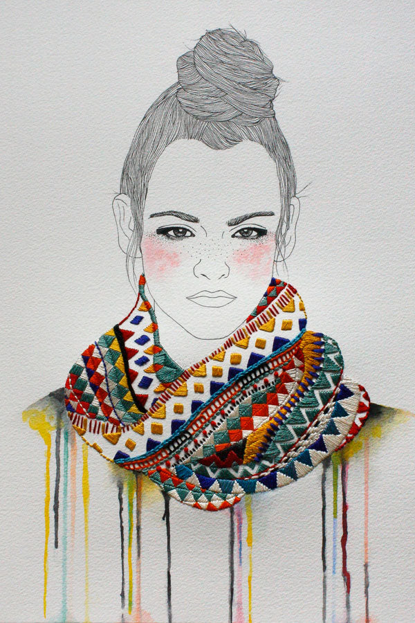 Embroidery Work by Izziyana Suhaimi